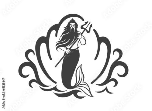 Obraz na płótnie king of sea