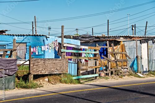 Valokuvatapetti Township near Cape Town, South Africa