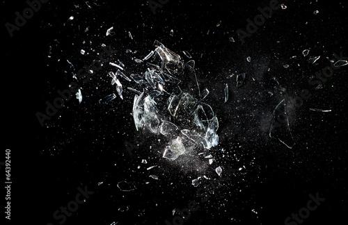 Fotografia glass  explosion