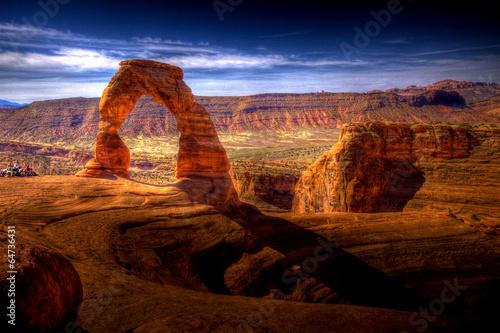 Fotografie, Obraz Delicate Arch HDR - Utah, USA