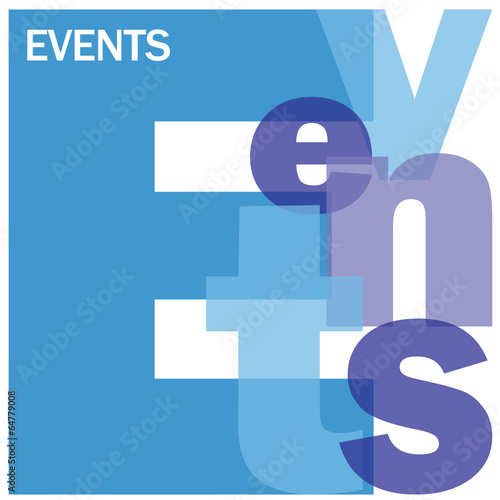 EVENTS Letter Collage (calendar coming up corporate) #64779008