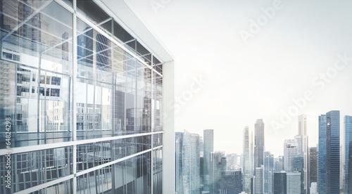 Fotografia, Obraz office building exterior