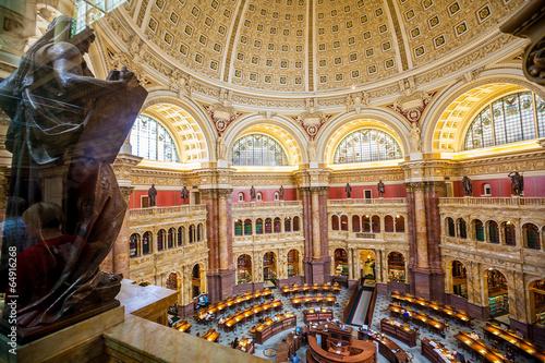 Sala Główna Biblioteki Kongresu DC