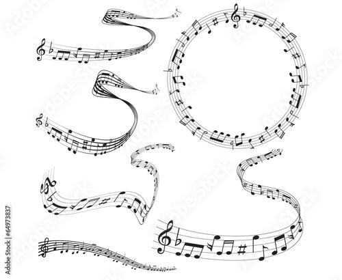 音符 楽譜 音楽 #64973837