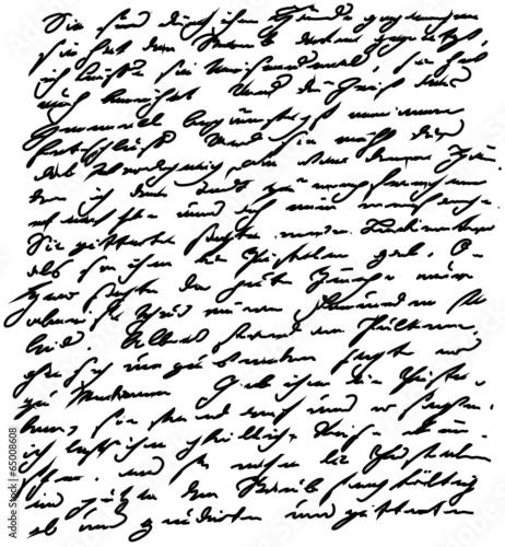 Photo Handschrift schreiben antik Goethe Schrift alt alte