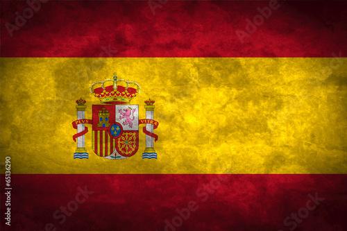 Wallpaper Mural Spain grunge flag