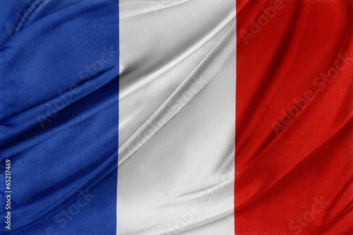 French flag Fototapet