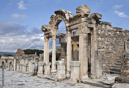 Valokuva The temple of Hadrian, Ephesos, Turkey