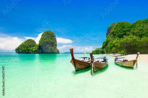 Stampa su Tela Beauty beach