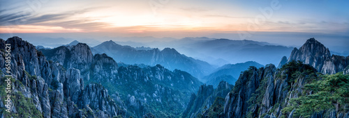 Huangshan Gebirge in China