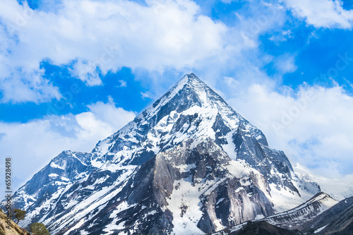Mount Sudarshan in the Indian Himalayas