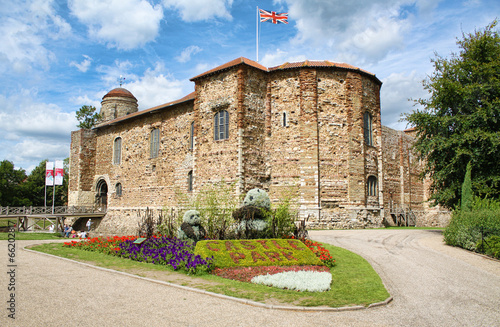 Norman Castle in Colchester фототапет