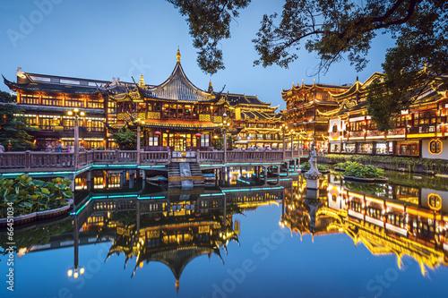 Yuyuan Gardens in Shanghai, China