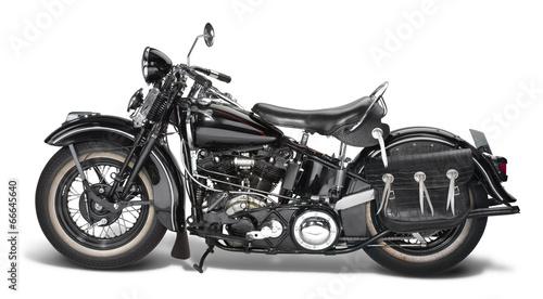 Photo vintage motorbike
