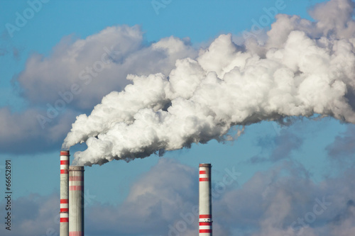 Luftverschmutzung Fototapete