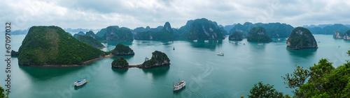 Fotografia Panorama of Halong Bay, Vietnam