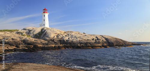 Wallpaper Mural Peggy Cove Lighthouse, Nova Scotia, Canada