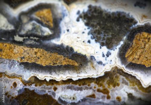 Fototapeta premium Agat z kamieni szlachetnych