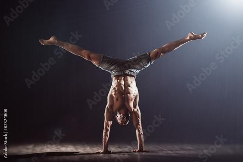 Canvastavla Handstand