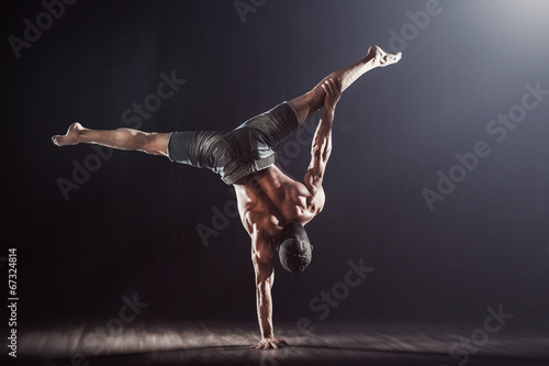 Valokuvatapetti Handbalance