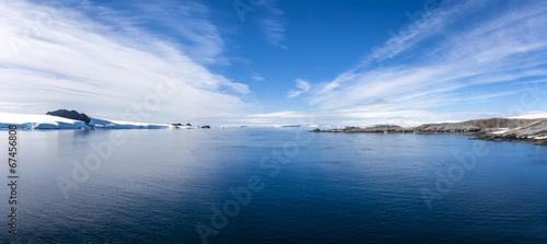 Fotografia Antarctic Panorama Paradis Bay