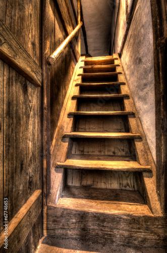Naklejki na drzwi Tajemnicze schody