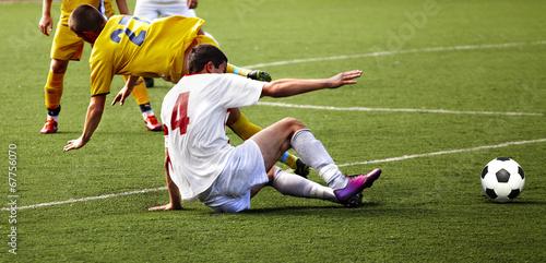 Obraz na płótnie Soccer player