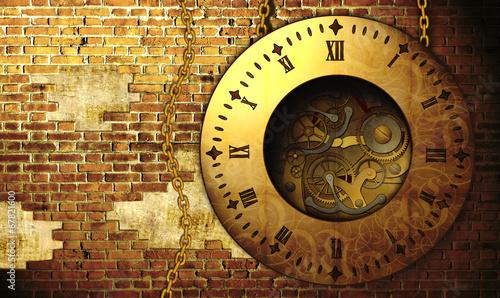 Fotografia Steampunk clock