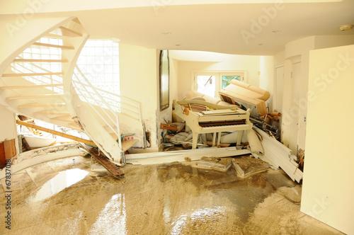 Obraz na płótnie Disaster