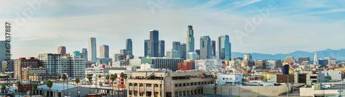 Photo Los Angeles cityscape panorama