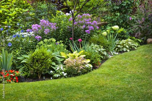Fototapeta premium Ogród i kwiaty