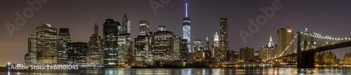2014 New York Downtown Panorama #68101045