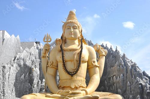 Obraz na płótnie Indian God Statue