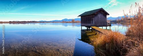Obraz na płótnie at the lake
