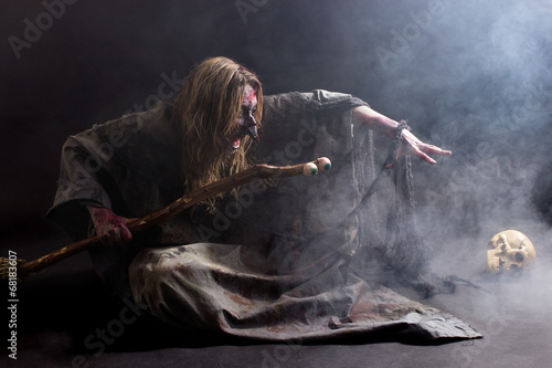 Obraz na plátne Hexenbeschwörung