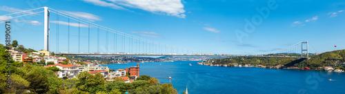 Fotografering the bridge on Bosphorus