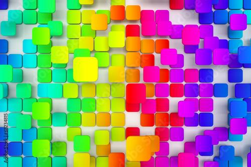 Kolorowe taflowy tło