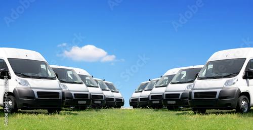 Obraz na plátně Transporter Autos