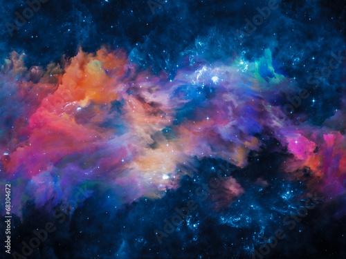 Fotografia Evolving Nebula