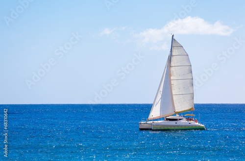Fototapeta catamaran