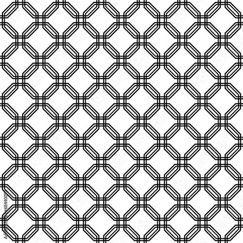 Fototapeta premium Geometryczny wzór bez szwu. Abstrakcyjne tło