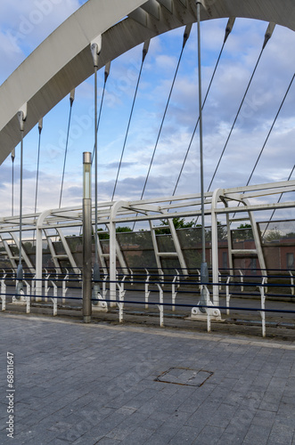 Modern bridge фототапет