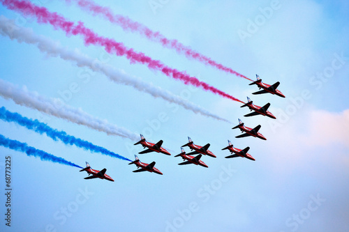 Photo Red Arrows formation