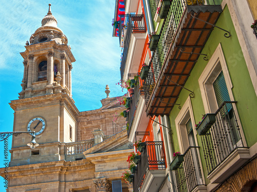 View of Pamplona.Navarre.Spain Fototapeta