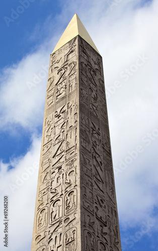 Fotografia Obelisk at Place de la Concorde, Paris