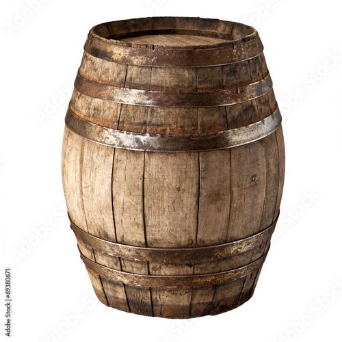 Fotografie, Tablou wood barrel