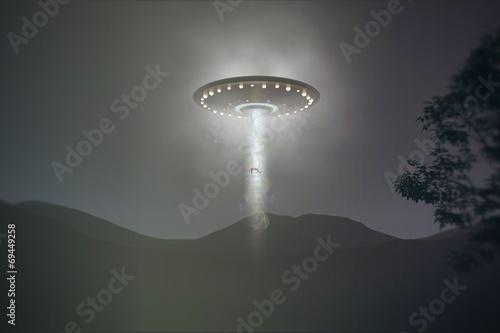 Fotografia ufo abduction