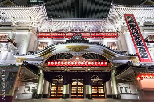Carta da parati 歌舞伎座