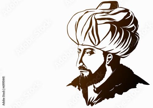 Fototapeta Fatih Sultan Mehmed