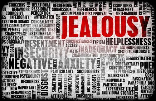 Canvas Print Jealousy